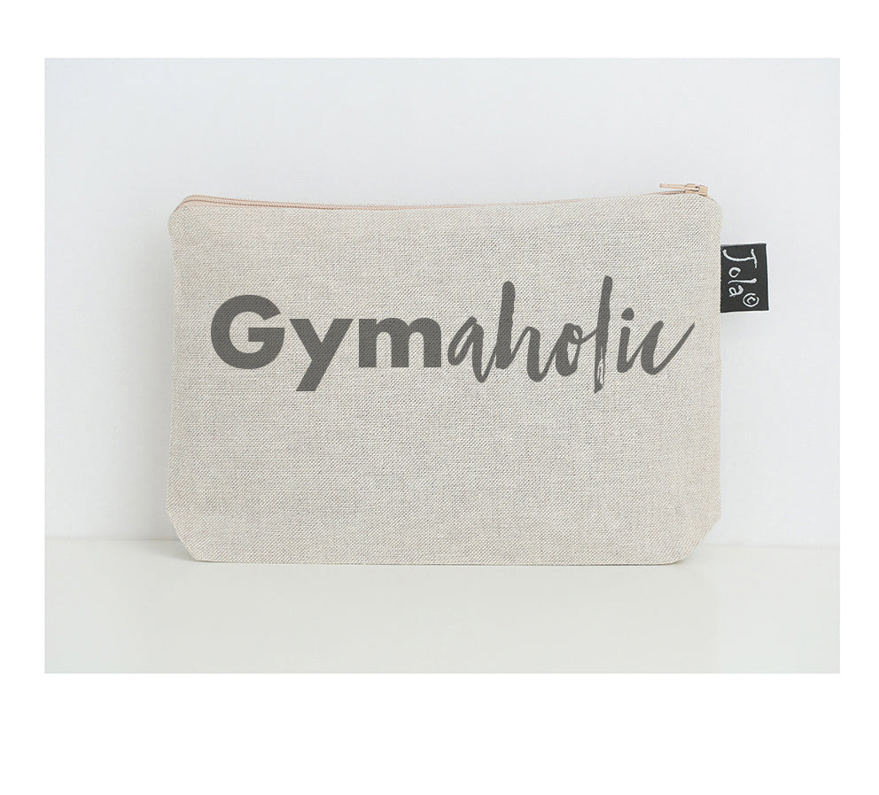 Gymaholic small make up bag