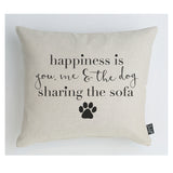 Happiness Dog Cushion