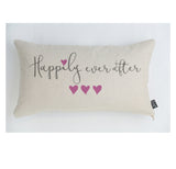Happily ever after pink Cushion
