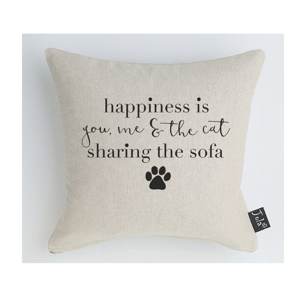 Happiness Cat Cushion