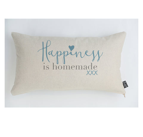 Happiness is homemade cushion