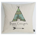 Happy Camper cushion