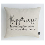Happy Dog Dance cushion