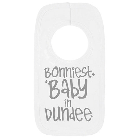 City Bonniest Baby Bib grey