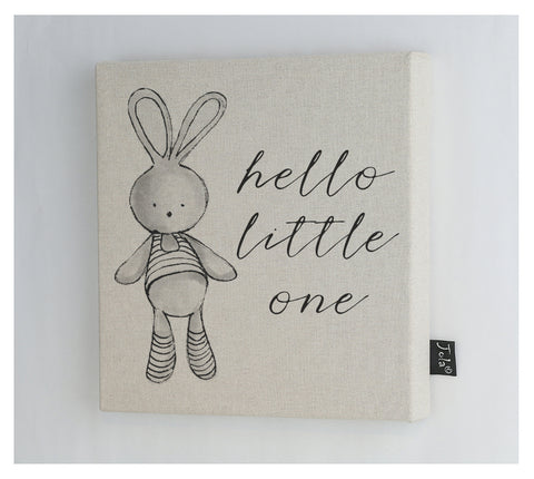 Hello Little One canvas frame