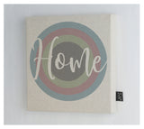 Home Pastel Canvas Frame