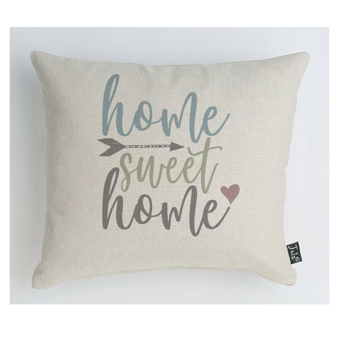 Home Sweet Home Pastel cushion