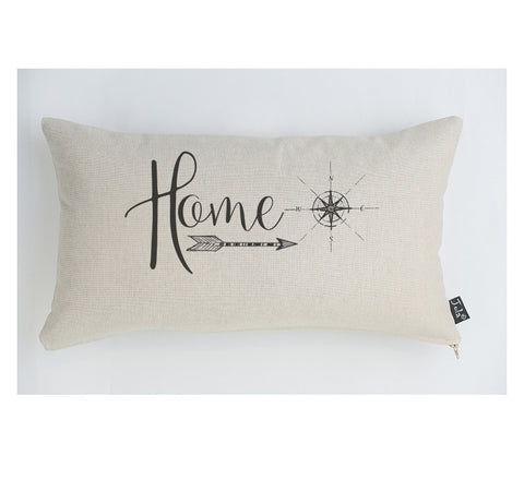 Home Compass cushion large boudoir