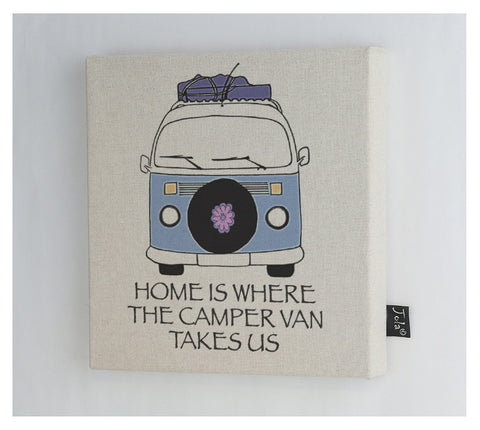 Camper Van Home Canvas