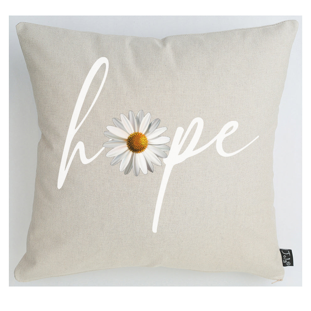 Hope Daisy cushion