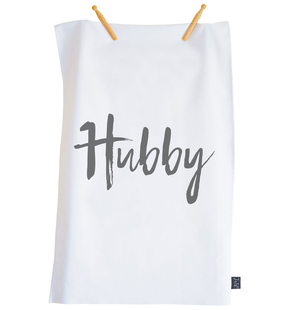 Hubby Tea Towel