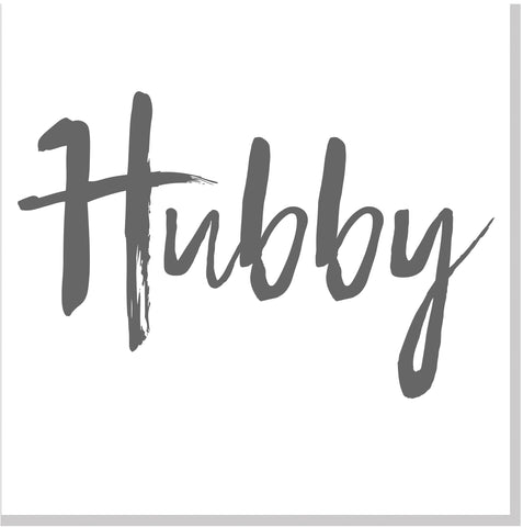 Hubby square card