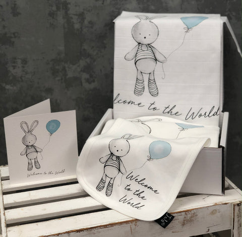 Welcome Balloon Baby set