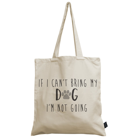 If I can't bring my Dog canvas bag