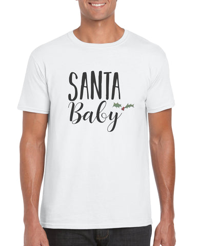 Santa Baby Holly Cotton T Shirt