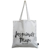 Personalised Mum est canvas bag