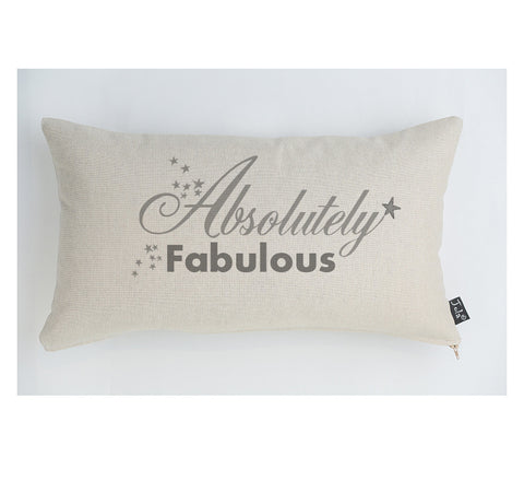 Absolutely Fabulous large boudoir cushion