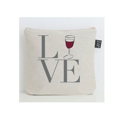 Love wine washbag