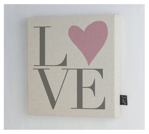 Love heart Canvas frame