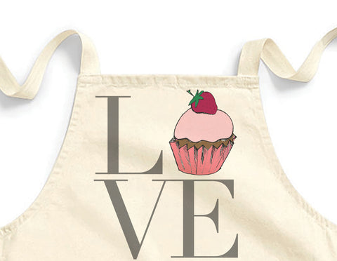 Love cupcake Mini Apron