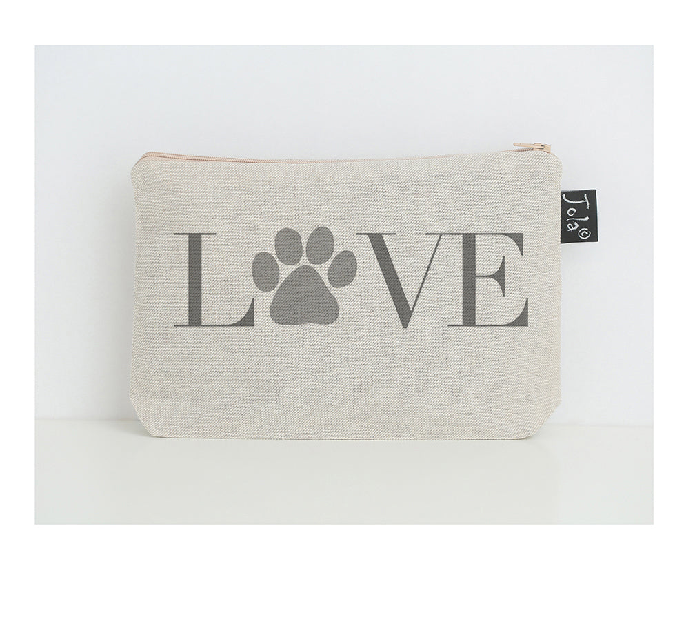 Love Paw small make up bag