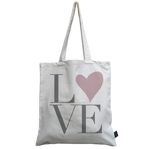 Love Heart canvas bag