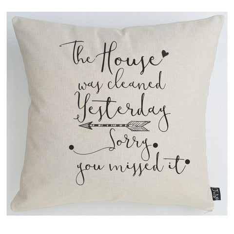 Clean House Cushion