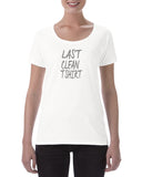 Cotton T Shirt Last clean T shirt