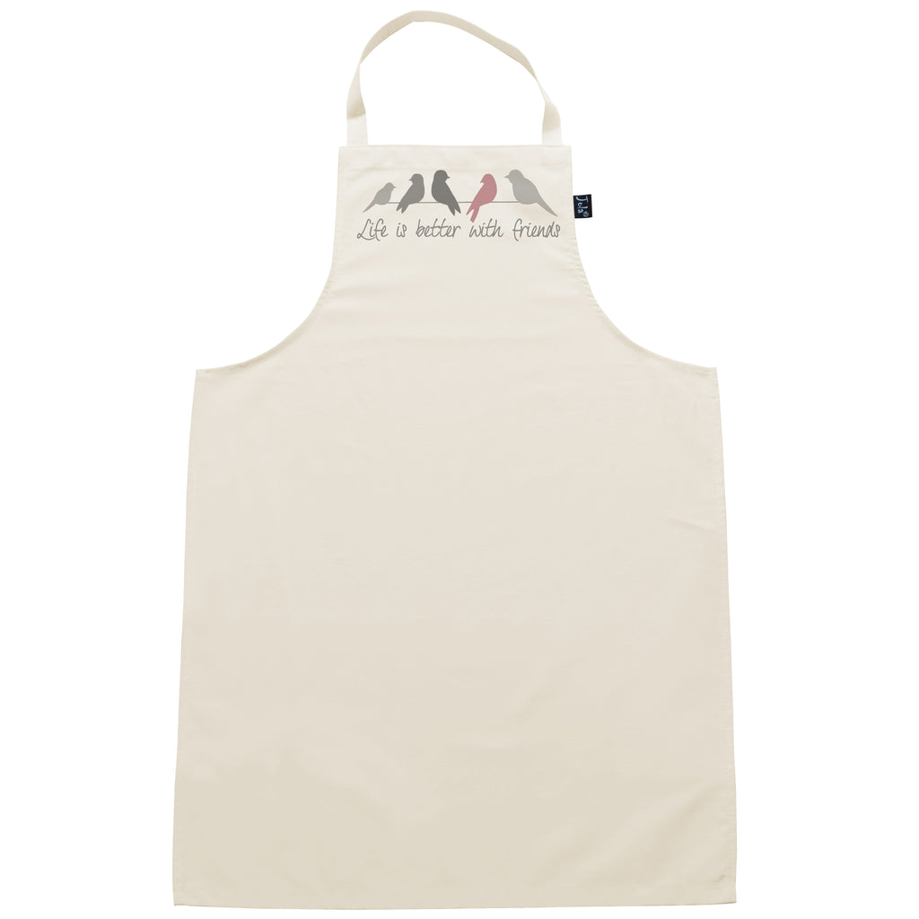 Life is better with friends Pink Apron