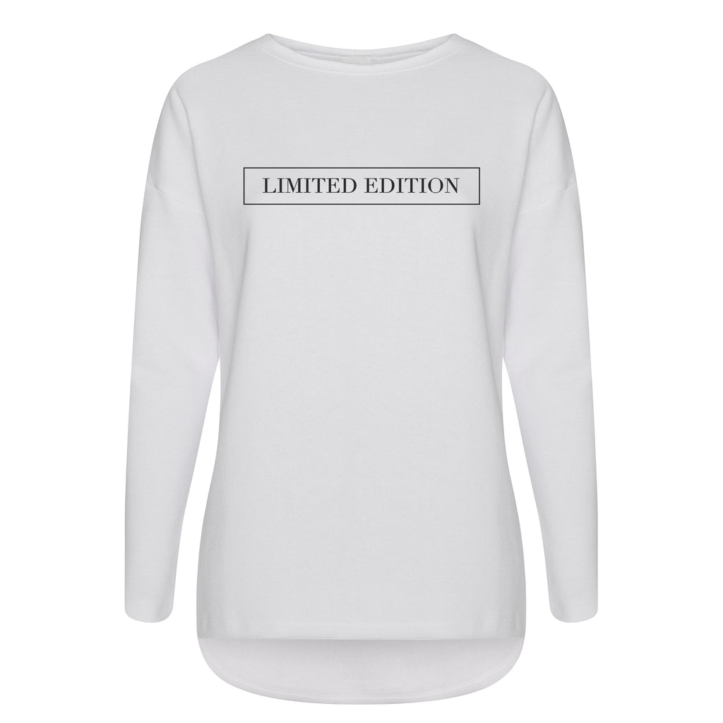 Cotton Slouch Sweatshirt Limited edition