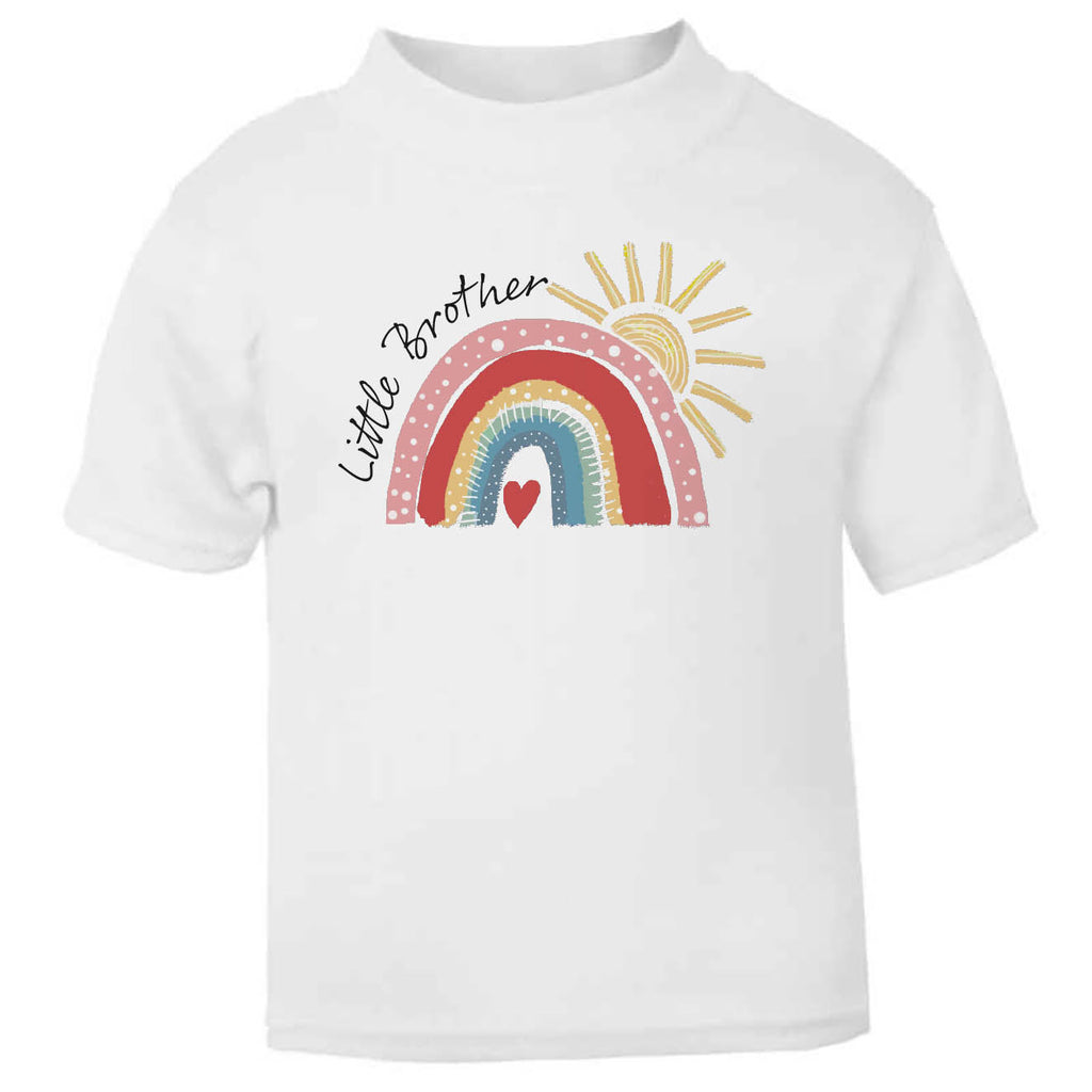Little Brother Rainbow Toddler T Shirt