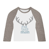 Little Man long sleeve Toddler T Shirt
