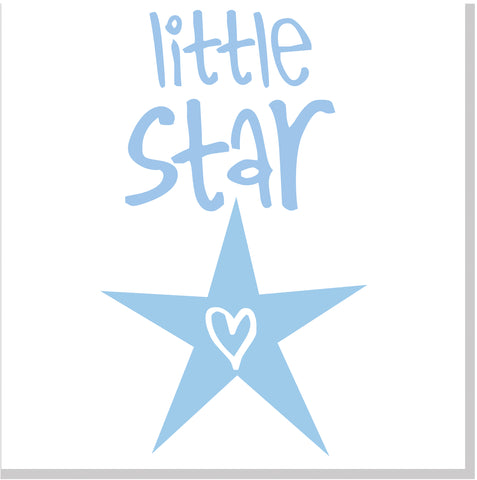 Little Star square card