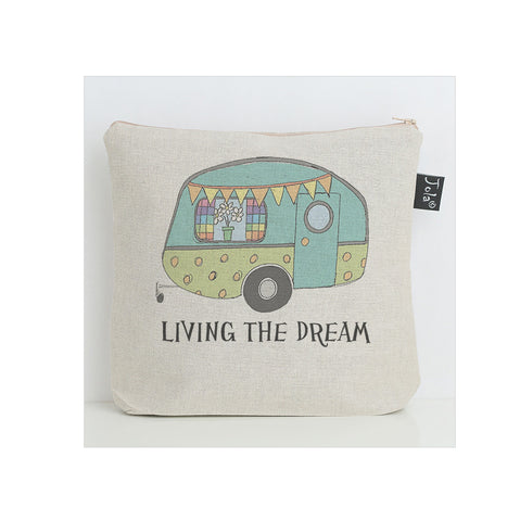 Living the Dream Caravan wash bag