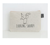 Looking Sharp small make up bag