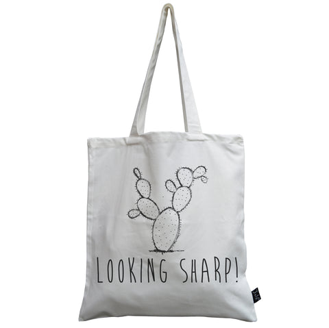 Looking Sharp canvas bag