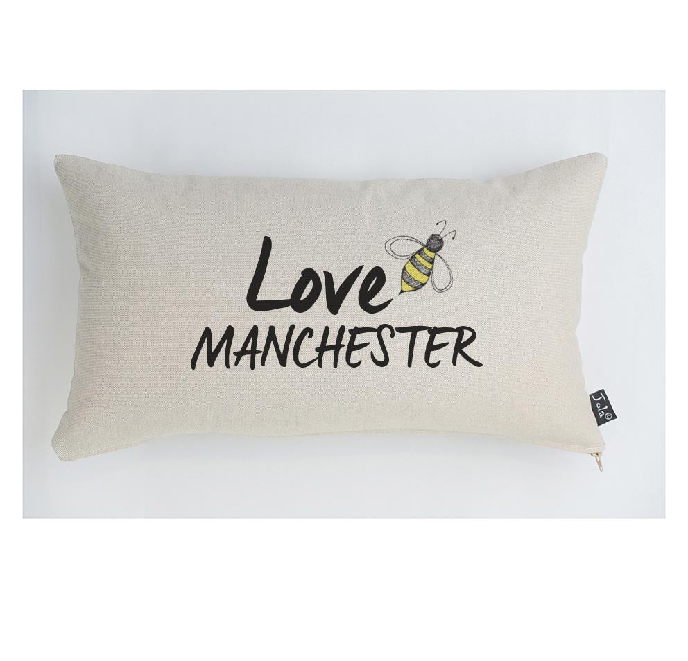 Love Manchester Cushion