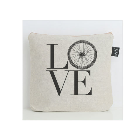 Love Bike Wheel Washbag