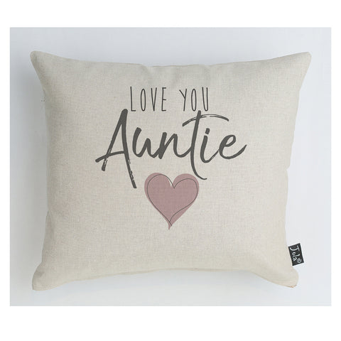 Love you Auntie Cushion