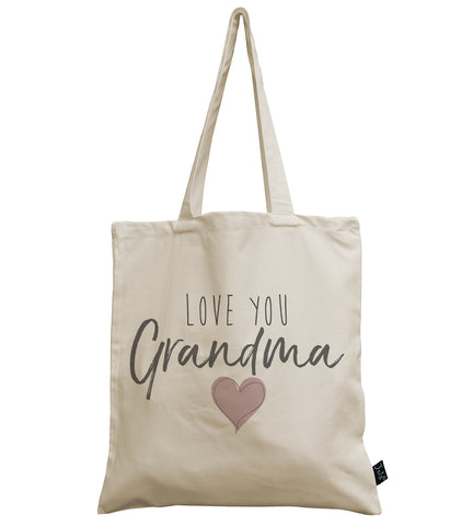 Love you Grandma canvas bag