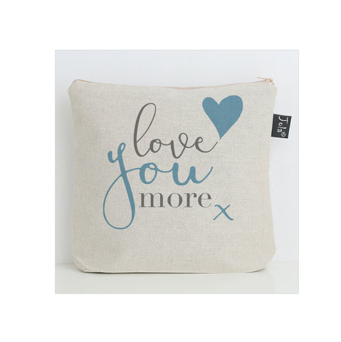 Love you More washbag