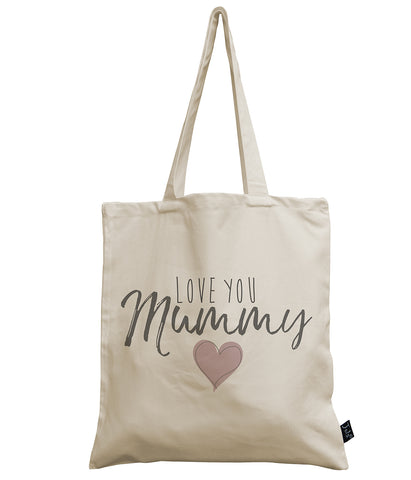 Love you Mummy canvas bag