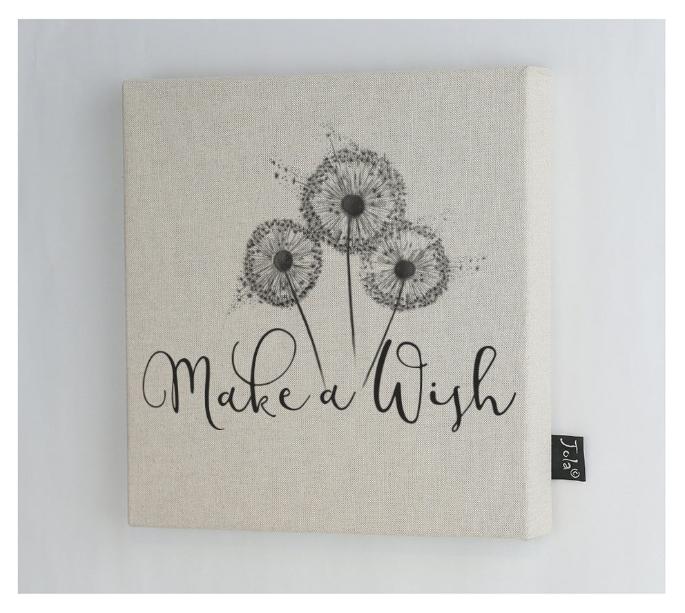 Make a wish Canvas Frame