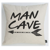 Man Cave Arrow Cushion