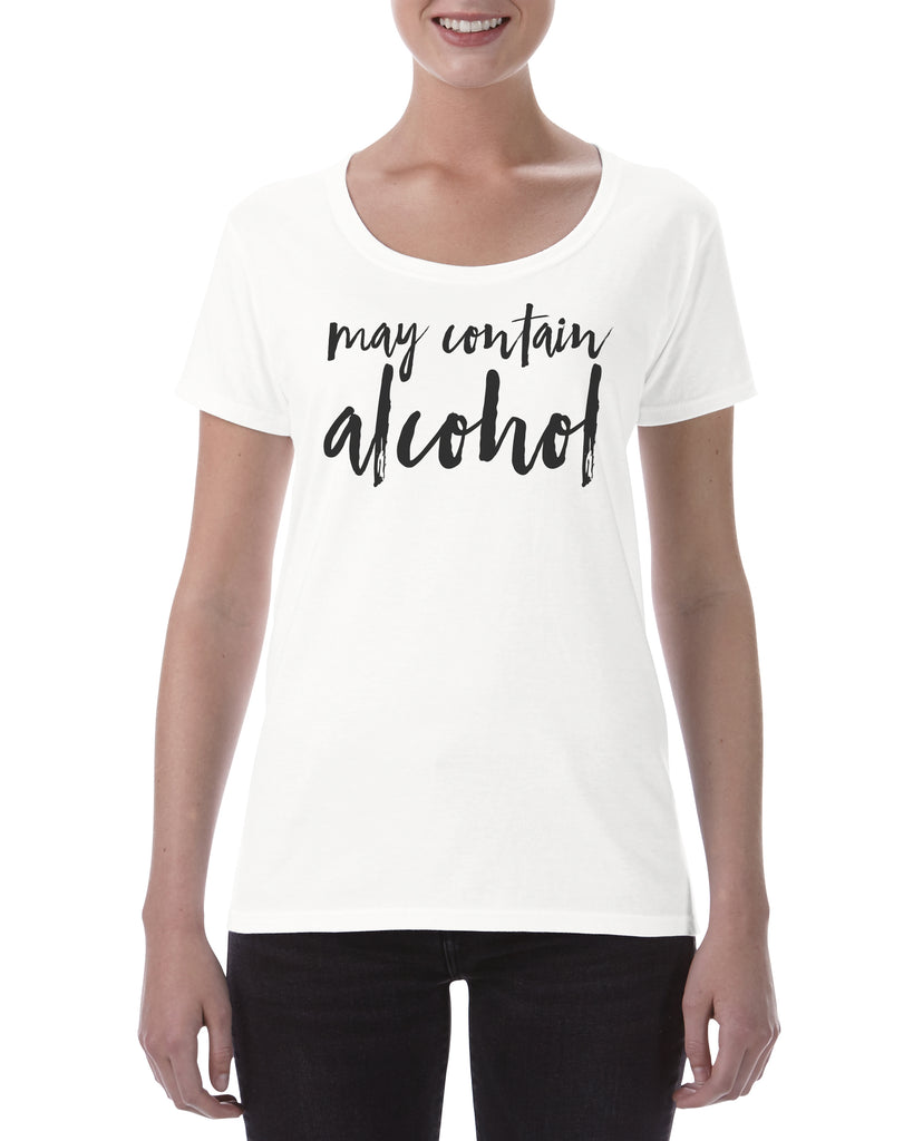 Cotton T Shirt May contain alcohol