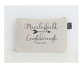 Personalised Mileage small Make up bag