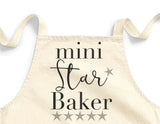 Childs Mini Star Baker Apron