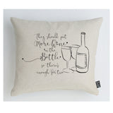 More Wine cushion