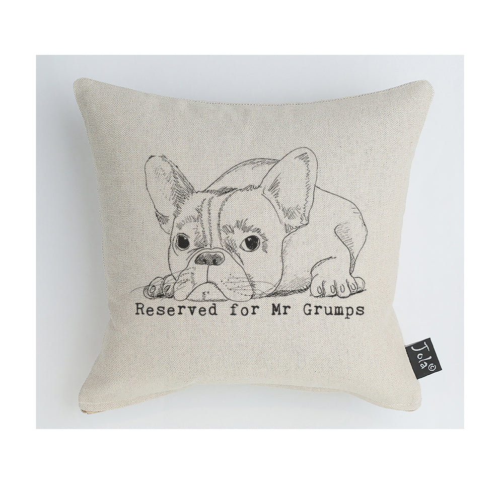 Reserved for Mr Grumps cushion