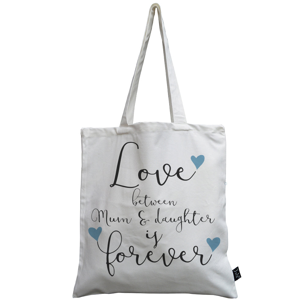 Mum & Daughter forever canvas bag